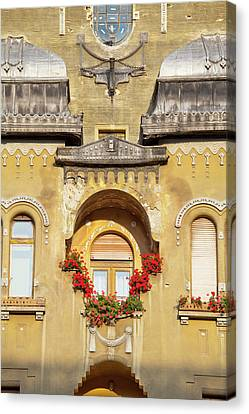 Timisoara In The Banat Of Romania Canvas Print by Martin Zwick