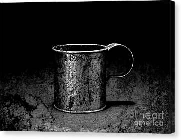 Tin Cup Chalice Canvas Print by John Stephens