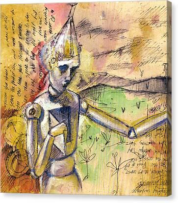Tin Man - Wizard Of Oz  Canvas Print by Chris Bradley