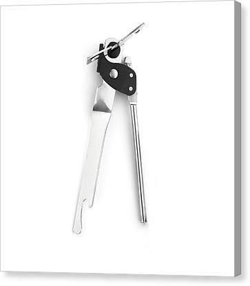 Tin Opener Canvas Print by Science Photo Library