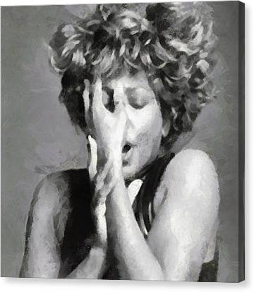Tina Turner - Emotion Canvas Print
