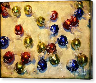 Tinfoiled Truffles Canvas Print by RC deWinter