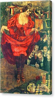 Tingeltangel Canvas Print by Pg Reproductions