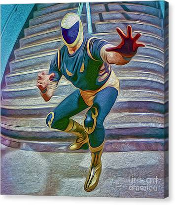 Tinieblas Canvas Print by Gregory Dyer