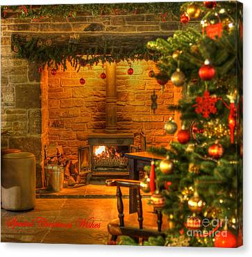 Tinsel And Fire Canvas Print