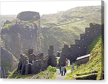 Tintagel Castle Canvas Print