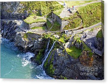 Tintagel Waterfalls Canvas Print