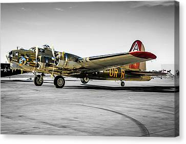 Tinted B17 Canvas Print by Chris Smith