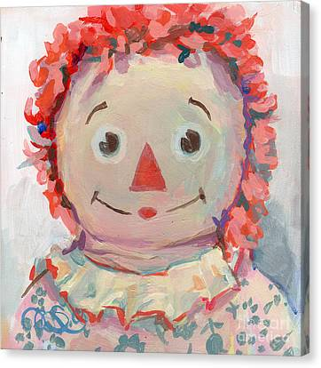 Tiny Anne II Canvas Print by Kimberly Santini