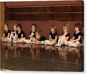 Tiny Dancers Canvas Print by Patricia Rufo