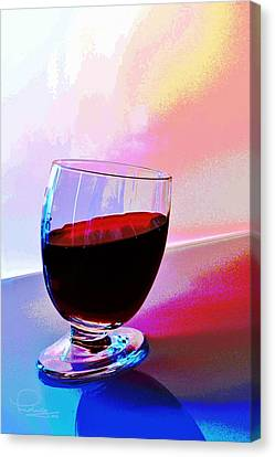 Canvas Print featuring the photograph Tipsy by Ludwig Keck