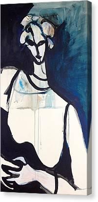 Tir Na Mban Canvas Print by Anna Elkins