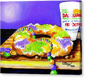 Tis Da Season Mista Canvas Print by Terry J Marks Sr