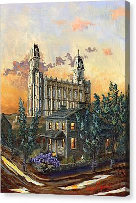 Tis Eventide Canvas Print by Jeff Brimley