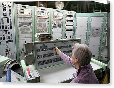 Titan Missile Control Room Canvas Print by Jim West