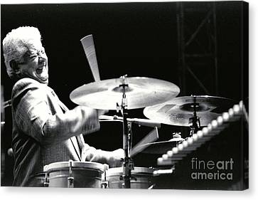 Tito Puente-1 Canvas Print by Gary Gingrich Galleries