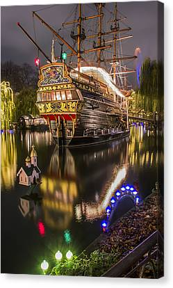 Tivoli By Night Canvas Print