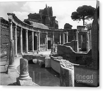 Tivoli Hadrian's Villa Canvas Print by Granger