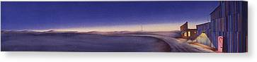 Tiwlight On The Central Plains II Canvas Print by Scott Kirby