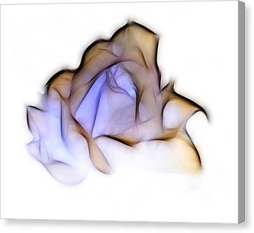 To A Rose Canvas Print by Lynn Bolt