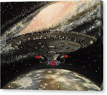 To Boldly Go... Canvas Print by Tim Loughner