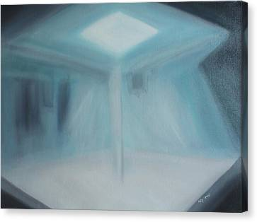 A Loner Canvas Print by Min Zou