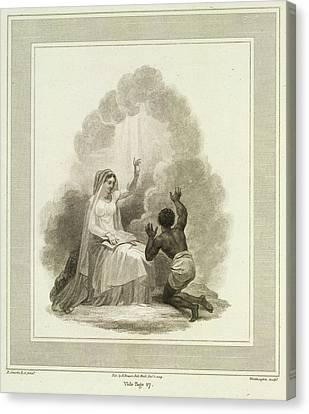 To Jesus Consecrated Canvas Print by British Library