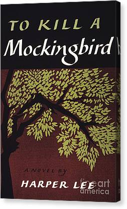 Book Cover Canvas Print - To Kill A Mockingbird, 1960 by Granger