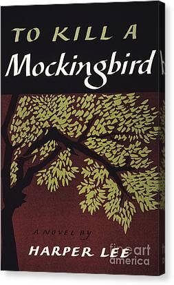 Mockingbird Canvas Print - To Kill A Mockingbird, 1960 by Granger