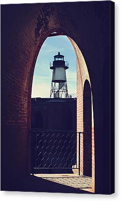 To Light The Way Canvas Print by Laurie Search