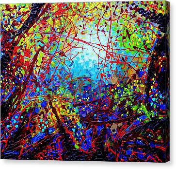 To Make Visible The Invisible  IIi Canvas Print by John  Nolan