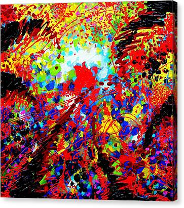 Abstract Expressionism Canvas Print - To Make Visible The Invisible V by John  Nolan
