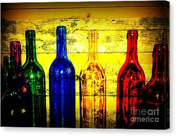 To Much Of Wine Canvas Print