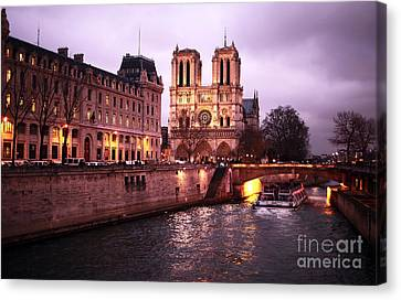 To Notre Dame Canvas Print by John Rizzuto