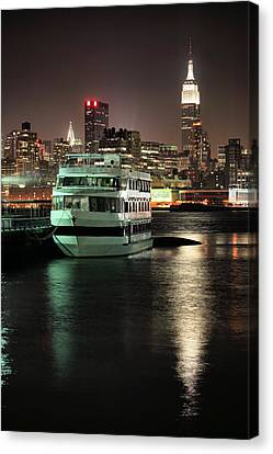 To Nyc Canvas Print by JC Findley