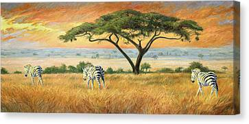 To Other Pastures Canvas Print