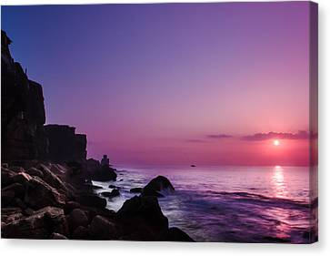 To Reach The Blue Hour Canvas Print