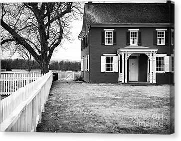 To Sherfy's House Canvas Print by John Rizzuto