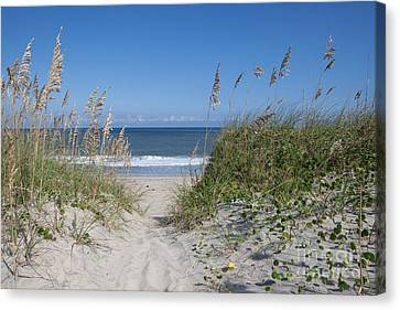 Breeze Canvas Print - To The Beach by Kay Pickens