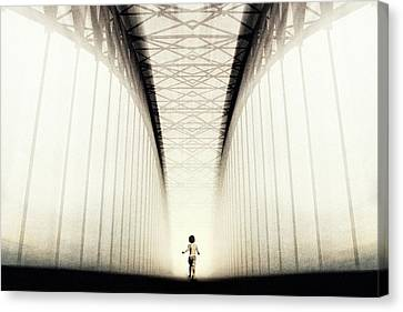 Determination Canvas Print - To The Future... by Trijoko