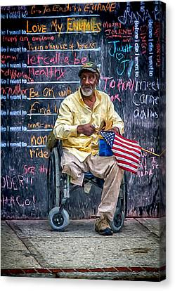 To Those Who Served Canvas Print
