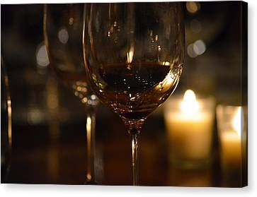 Toast For Wine Lovers 1 Canvas Print by Deprise Brescia