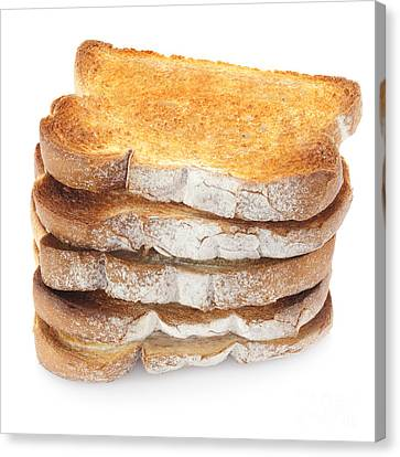 Toast Stack Canvas Print by Colin and Linda McKie