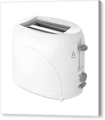 Toaster Canvas Print by Science Photo Library