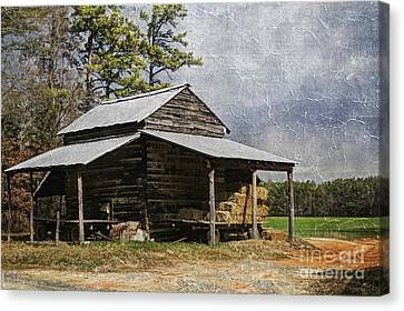 Tobacco Barn In North Carolina Canvas Print
