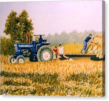 Tobacco Farmers Canvas Print