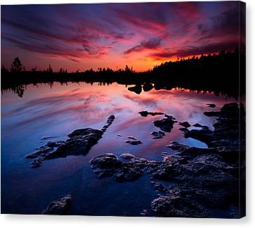 Tobermory Sunset Canvas Print