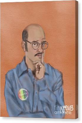 Arrest Canvas Print - Tobias Funke by Jeremy Nash