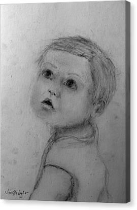 Toddler Boy Canvas Print