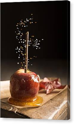 Toffee Apple Canvas Print by Amanda Elwell